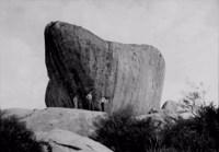 Pedra do Letreiro em Araruna (PB)