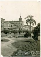 Praça do Pescador : Edifício do Jornal Folha do Norte : Belém, PA