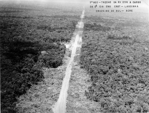 Rodovia 236 - Lagoinha : Cruzeiro do Sul, AC - 1976