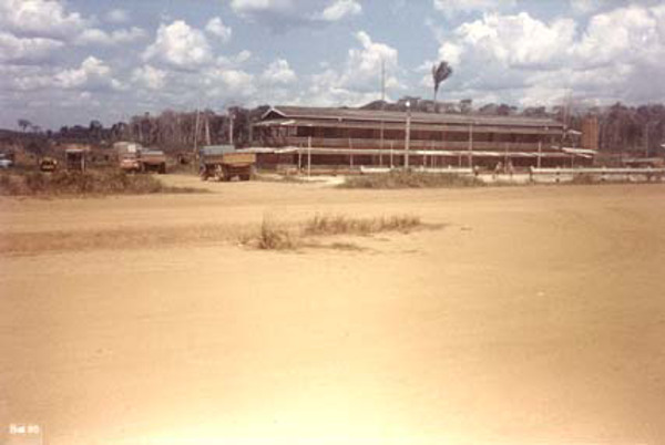 Escritório do Instituto Nacional de Colonização e Reforma Agrária em Novo Aripuanã (AM) - 1985