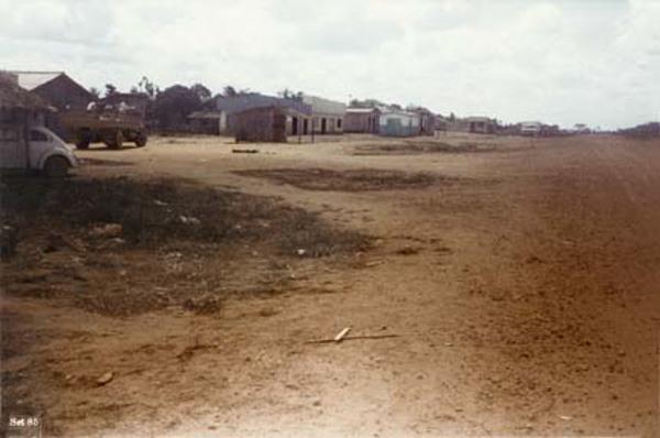 Centro da Vila de Apuy em Novo Aripuanã (AM) - 1985