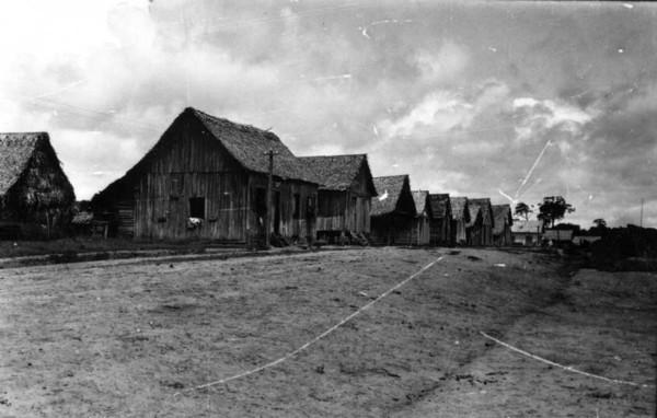 Rua principal de Plácido de Castro (AC) - jan. 1953