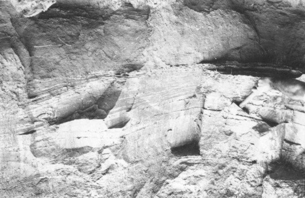 Barranco de argila na Colônia Assis Brasil (AC) - jan. 1953