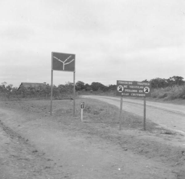 Estrada para a Colônia de Japiim (AC) - 1974