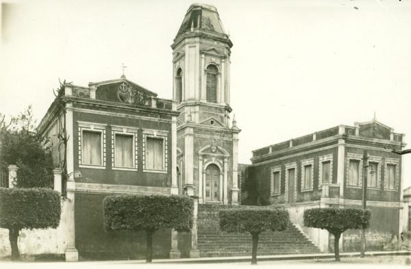Monumento do Sagrado Coração de Jesus : Água Branca, AL - 1949