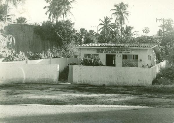 Posto de saúde : Barra de Santo Antônio, AL - [19--]