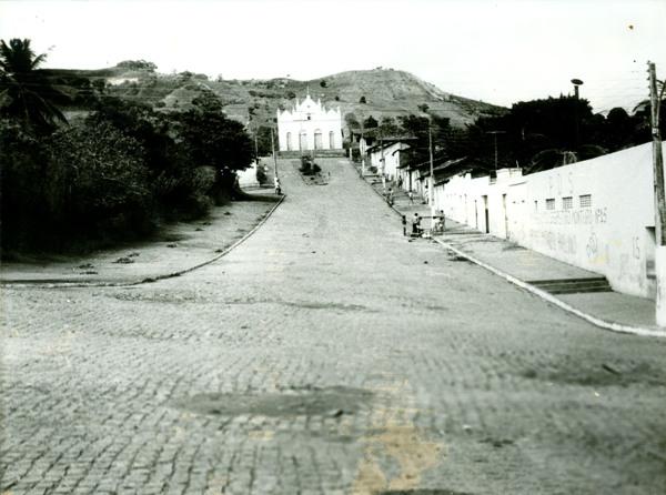Rua São Sebastião : Igreja Matriz de São Sebastião : Belém, AL - [19--]