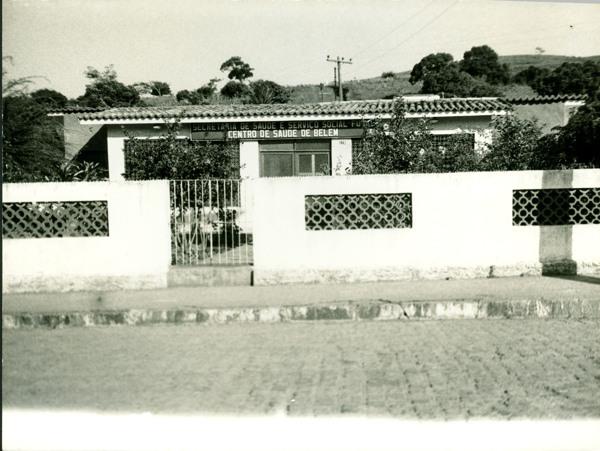 Centro de saúde : Belém, AL - [19--]