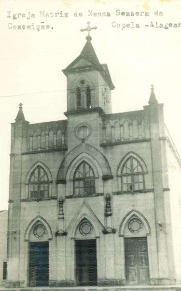 Igreja Matriz de Nossa Senhora da Conceição : Capela, AL - [19--]