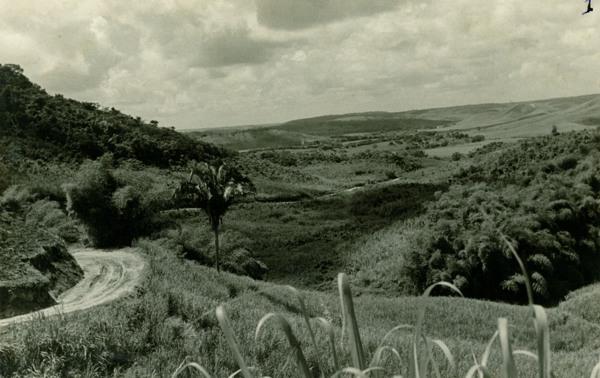 Vista panorâmica do Vale do Paraíba : Capela, AL - [19--]