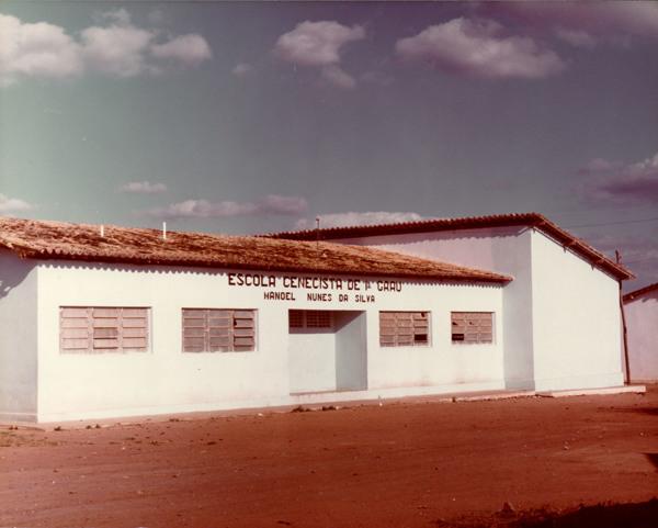 Escola Cenecista de 1º Grau Manoel Nunes da Silva : Craíbas, AL - [19--]