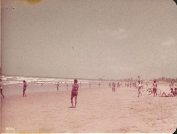 Praia : Feliz Deserto, AL - 1983