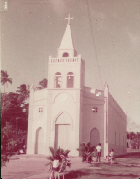 Igreja de Nossa Senhora Mãe dos Homens : Feliz Deserto, AL - 1983