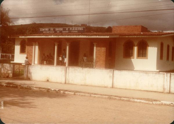 Centro de saúde : Flexeiras, AL - 1983