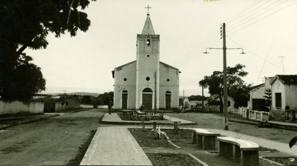 Igreja Matriz de São Cristóvão : Palmeira dos Índios, AL - 1968
