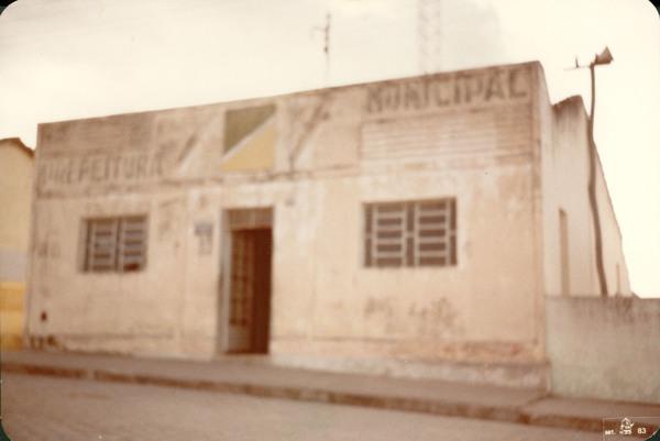 Prefeitura Municipal : Minador do Negrão, AL - 1983