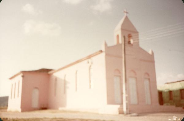 Igreja Nossa Senhora das Graças : Minador do Negrão, AL - 1983