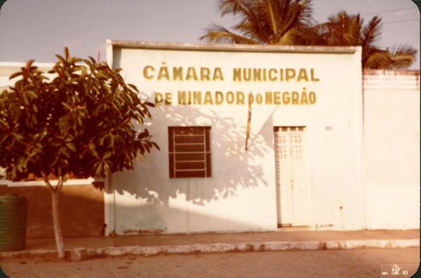 Câmara Municipal : Minador do Negrão, AL - 1983