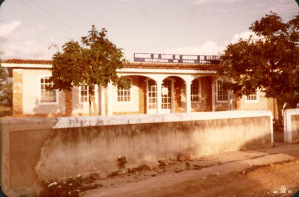 Unidade de saúde : Minador do Negrão, AL - 1983