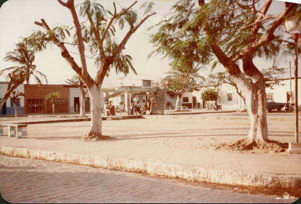 Praça Tereza Araújo Barros : Minador do Negrão, AL - 1983