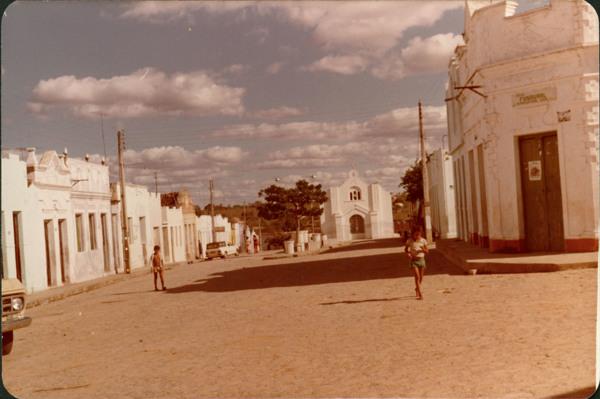 Rua Belarmino Vieira : Igreja Nossa Senhora do Carmo : Olivença, AL - [19--]