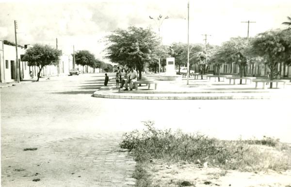Praça Siloé Tavares : Ouro Branco, AL - [19--]