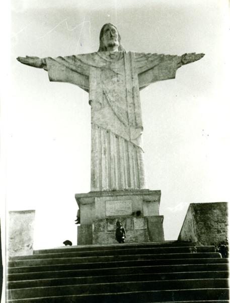 Monumento do Cristo Redentor : Pão de Açúcar, AL - [19--]