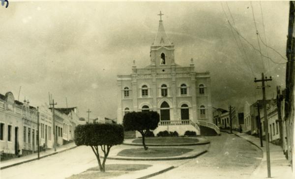 Igreja Matriz do Senhor Bom Jesus dos Pobres : Quebrangulo, AL - [19--]