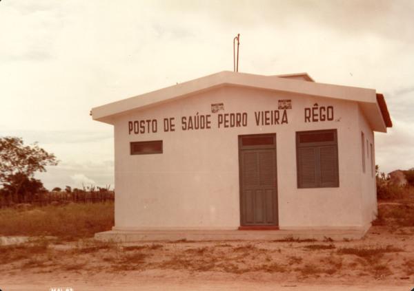 Posto de Saúde Vieira Rêgo : Senador Rui Palmeira, AL - 1983