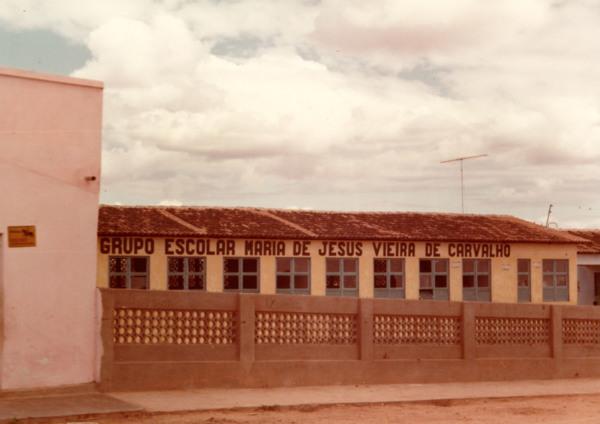 Grupo Escolar Maria de Jesus Vieira de Carvalho : Senador Rui Palmeira, AL - 1983