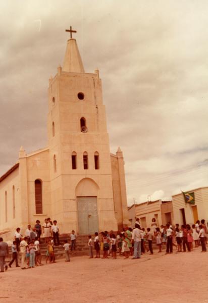 Igreja de Santo Antônio : Senador Rui Palmeira, AL - 1983