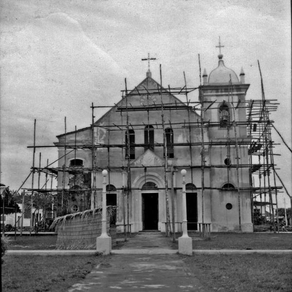Igreja principal da cidade de Borba (AM) - mar. 1966