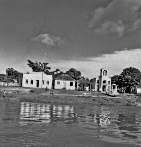 Aspecto da cidade de Urucurituba (AM) - 1966