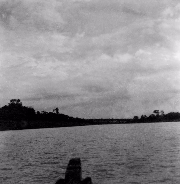 Aspecto da cidade de Itapiranga (AM) - fev.1965