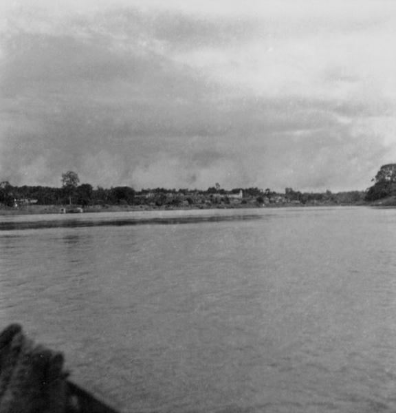 Detalhe da cidade de Itapiranga (AM) - fev.1965