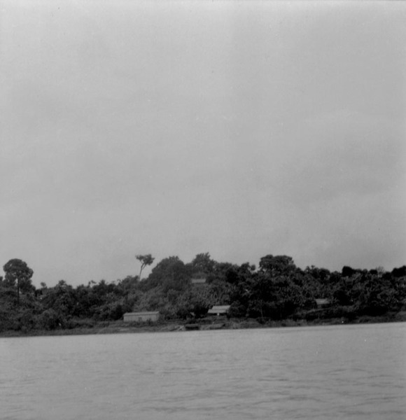 Casas próximas a cidade de Jutaí (AM) - fev.1965