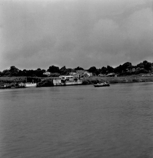 Vista da localidade de Jutaí (AM) - fev.1965