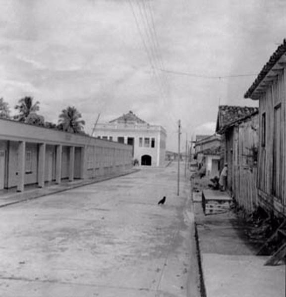Rua principal de Manacapuru (AM) - fev.1966
