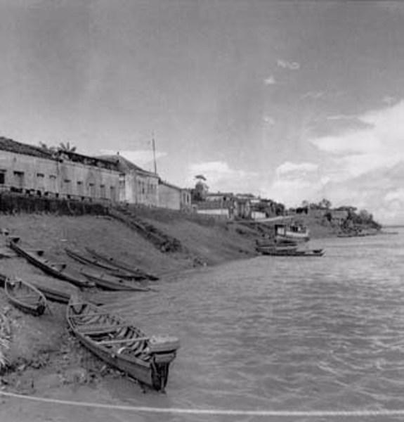 Vista parcial da cidade de Manacapuru (AM) - fev.1966