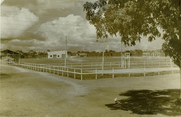 Praça pública de esportes : Mazagão, AP - [195-?]