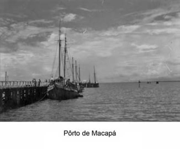 Vista Porto de Macapá (AP) - 1953