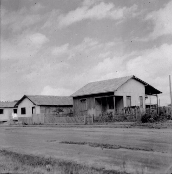 Casas na área urbana de Macapá (AP) - 1955