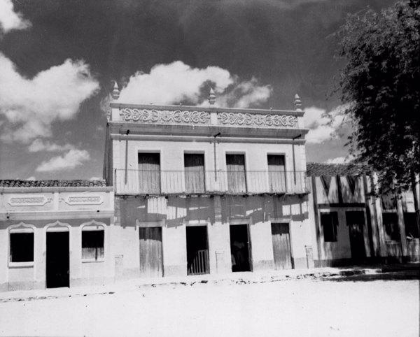 Casas na cidade de Glória (BA) - fev. 1952
