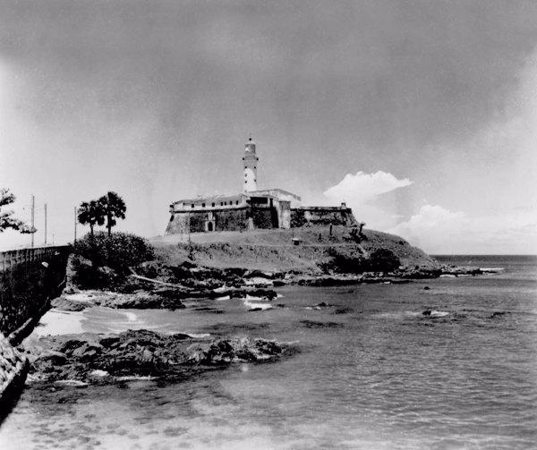 Farol da Barra em Salvador (BA) - mar. 1952