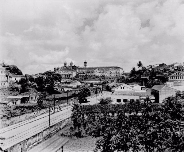 Vista da cidade alta de Salvador (BA) - mar. 1952