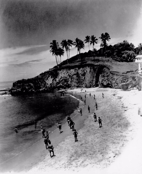 Praia em Camaçari (BA) - mar. 1952