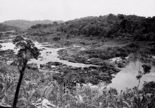 Rio de Contas em Barra do Rocha (BA) - 1953