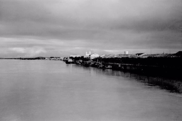 Cidade de Juazeiro a partir do Rio São Francisco (BA) - 1957
