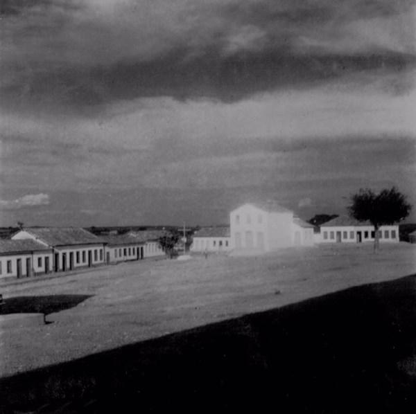 Igreja em Aracatu (BA) - fev. 1962