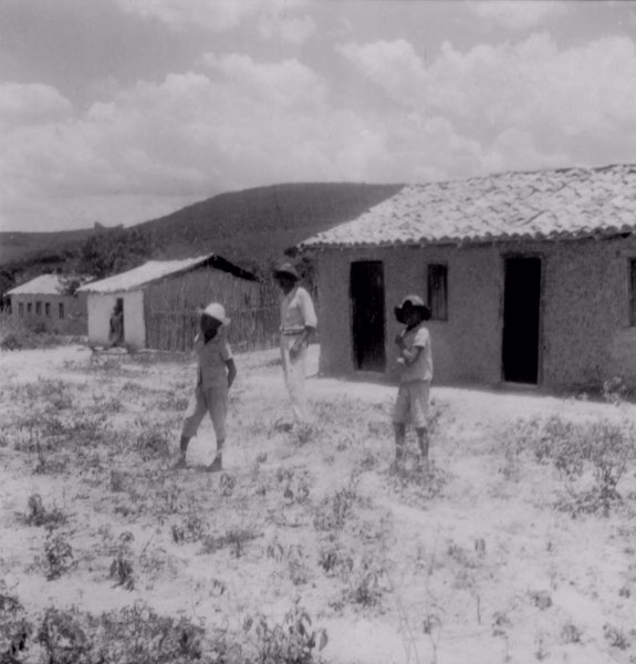 Casas no Arraial de Cutia em Conceição do Coité (BA) - fev. 1962